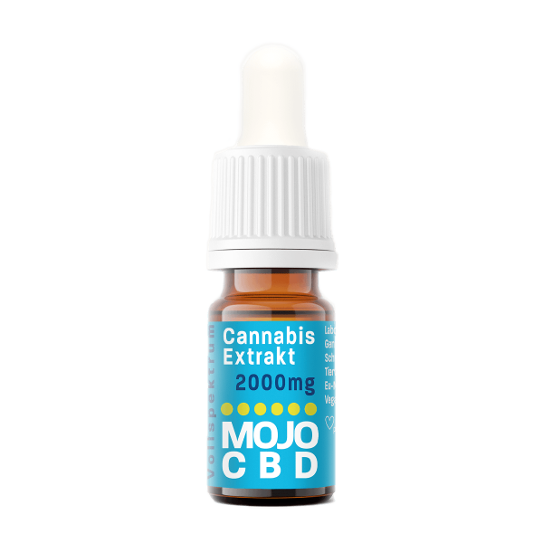 Mojo CBD Oil   10ml   2000mg CBD   20% CBD
